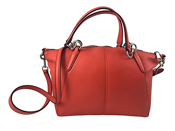 Details About New Coach F36675 F26917 Small Kelsey Satchel In Pebble 337349d4b5636