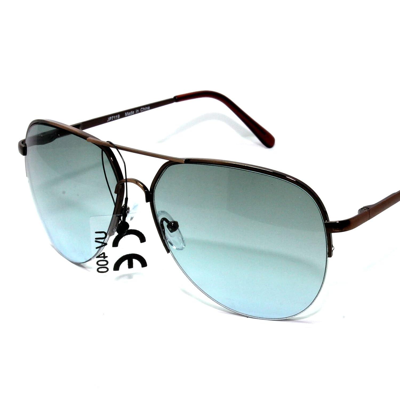 Metal NG45-1 Mens Womens Aviator Sunglasses Gradient Lens UV400CE