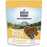 Natural Balance Belly Bites Semi Moist Dog Treats, 6 Ounce Bag, Grain Free