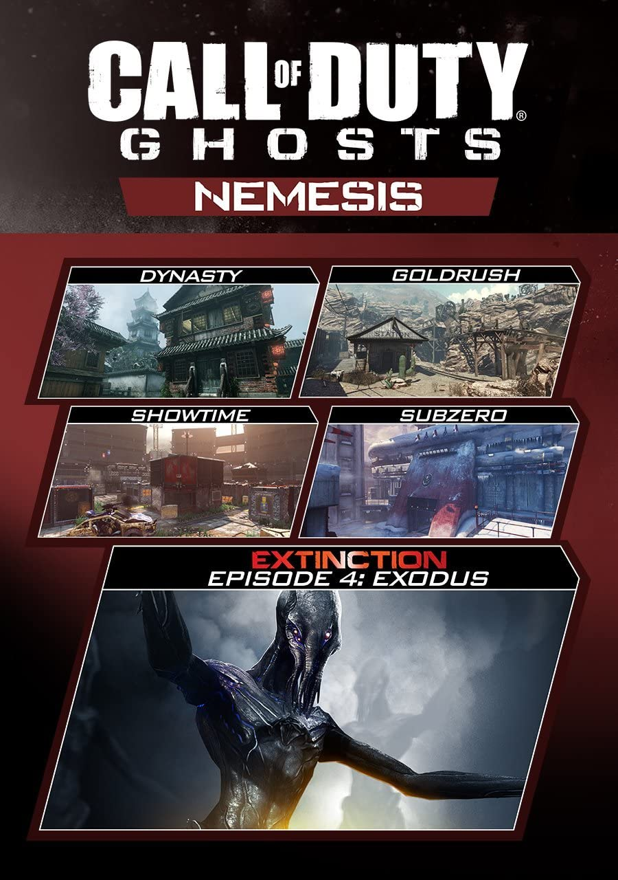 Amazon.com: Call of Duty: Ghosts - Nemesis [Online Game Code]: Video on