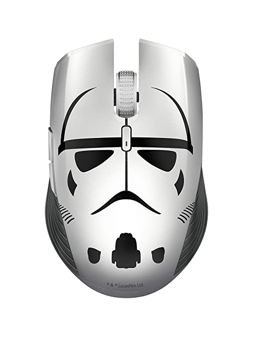 Razer Atheris Ambidextrous Wireless Mouse: 7200 DPI Optical Sensor - 350 Hr  Battery Life - USB Wireless Receiver & Bluetooth Connection - Stormtrooper