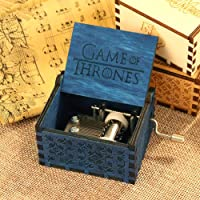 Wooden Music Box Game of Thrones Instrument India Gift by Powlance