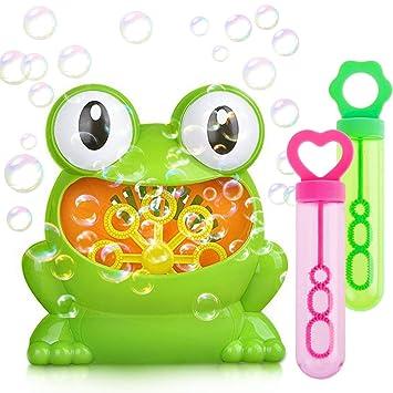 Máquina de burbujas para niños | Máquina automática portátil sopladora de burbujas para uso en interiores