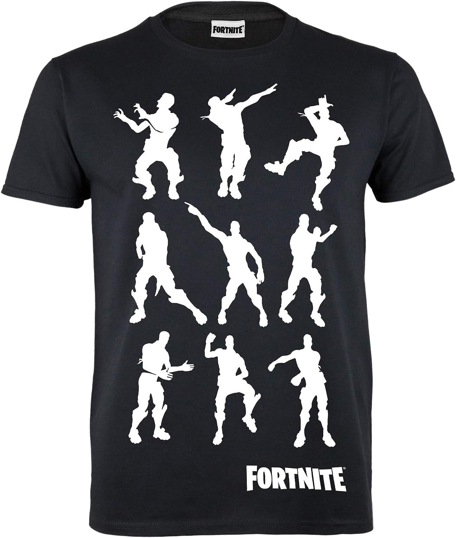 Fortnite Dancing Emotes Boys T-Shirt Official Merchandise