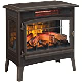Duraflame 3D Infrared Electric Fireplace Stove with Remote Control - Portable Indoor Space Heater - DFI-5010 (Bronze)