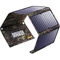 Dohiker Portable 27W Solar Charger with 3 USB Ports Portable & Splash-Proof Solar Panel