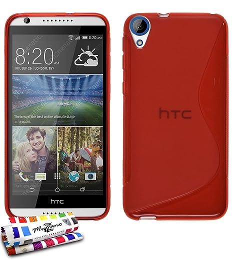 Muzzano F1409061 - Funda para HTC Desire 820, color rojo ...