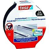 Tesa 55587-00002-00 - Cinta antideslizante, 5 m x 25 mm, color negro