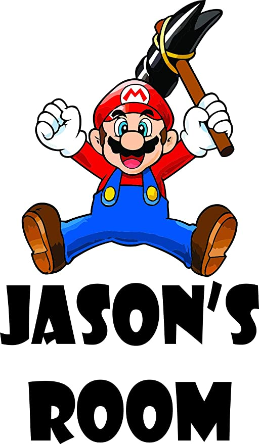 Amazon Com Personalized Names Custom Name Super Mario Brothers