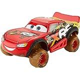 Disney Pixar Cars Corredores Extremos de Lodo, El Rayo Mcqueen, Vehículos con suspensión y llantas todo terreno, de 4 Años En Adelante.