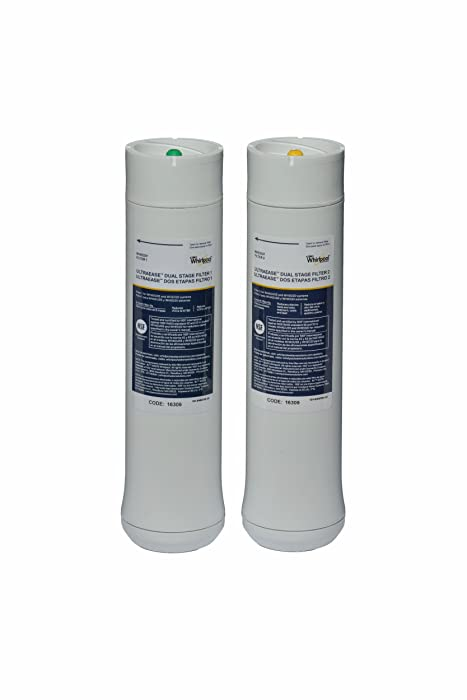 Whirlpool WHEEDF Dual Stage Replacement Pre/Post Water Filters (Fits Systems WHADUS5 and WHED20)