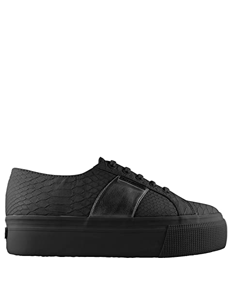 SUPERGA Zapatos de Mujer Baja S00CJZ0 Zapatillas de Deporte de la Plataforma F90 2790 PUSNAKEW: Amazon.es: Zapatos y complementos