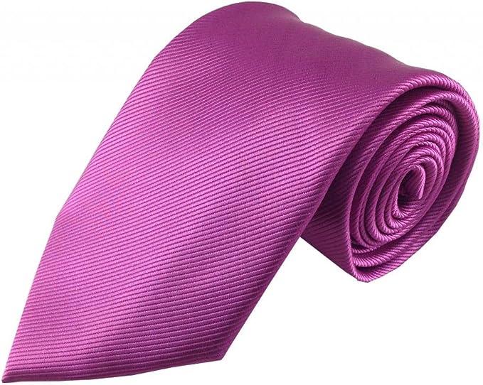 Corbata de Rayas de color fucsia Tonal: Amazon.es: Ropa y accesorios