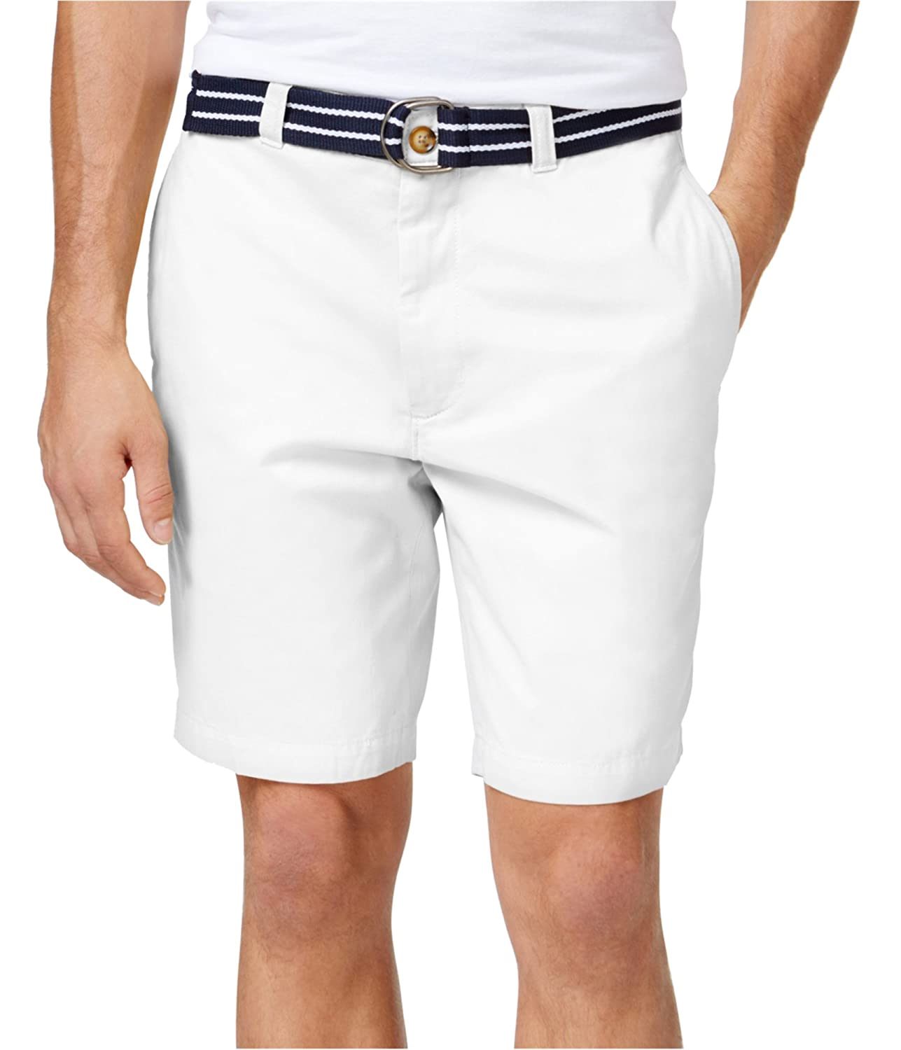 Club Room Mens Twill Flat Front Casual Shorts 22500DU558