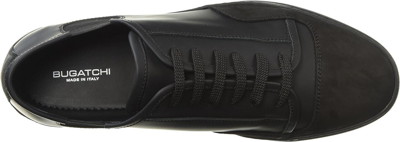 BUGATCHI Mens Sneaker, Tennis Homme Nero 10