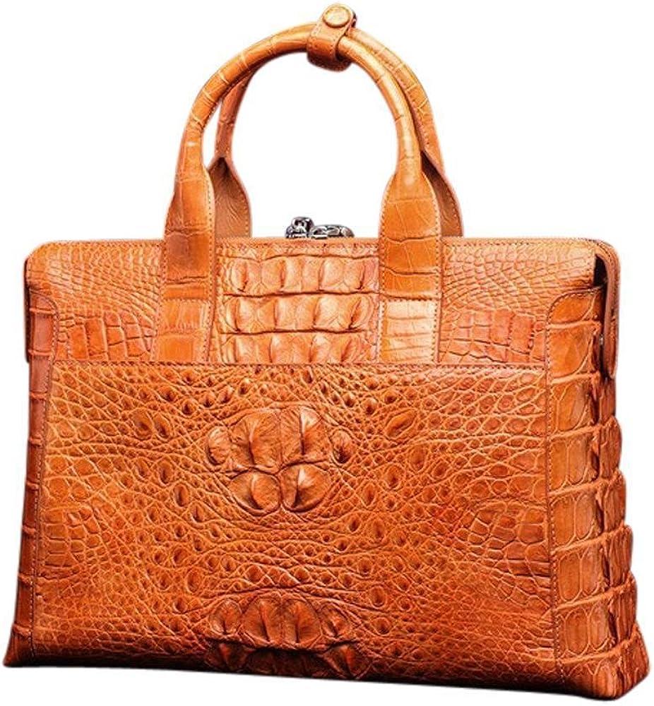 Briefcase | Top Handle Bags | Rossieviren Orange