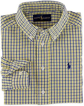 Ralph Lauren Blake Seesucker Camisa para niño - Multi - 4 ...