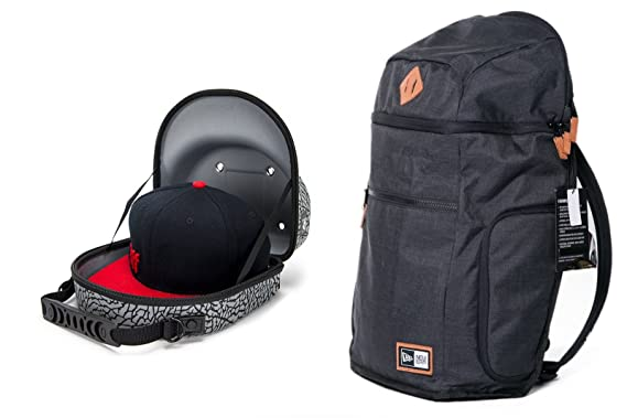 0db29e51c New Era Cap Protector Pack Backpack - With 2 Cap Travel Case  Amazon.co.uk   Clothing