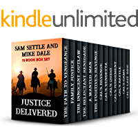 Justice Delivered: A Classic Western 13 Book Box Set (Western Box Sets)
