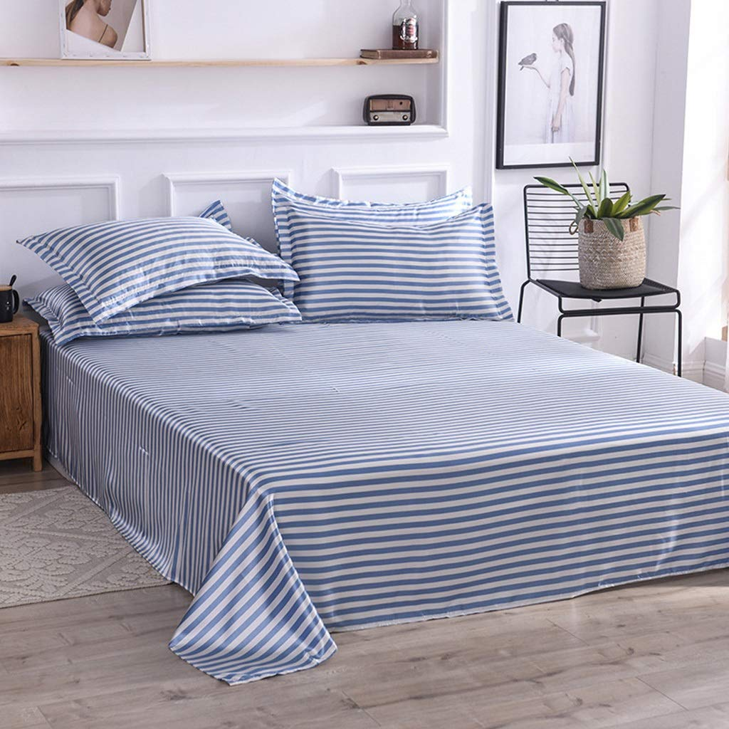 D Fitted Sheets Super Soft Bedsheets (color   A)