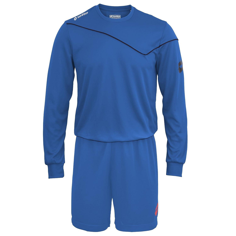 Lotto Boys Football Sports Kit Long Sleeve Sigma (Full Kit Shirt & Shorts)
