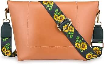 Wolven Adjustable Purse Strap Crossbody Shoulder Strap For Handbag Laptop Bag Etc