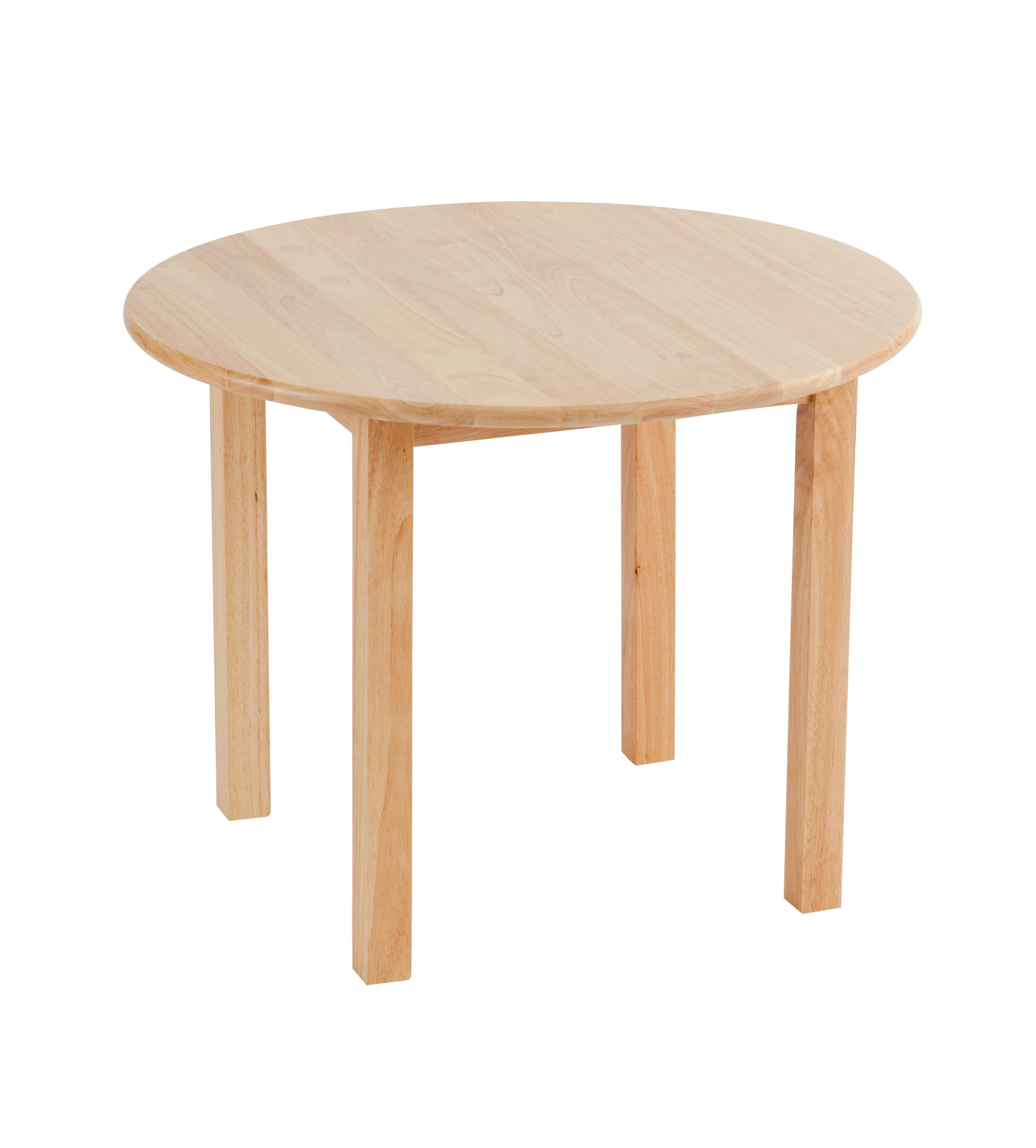ECR4Kids 30'' Round Deluxe Hardwood Activity Table, 18''H