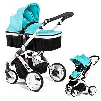 Allis Bolso cambiador® 2 in1 Cochecito de bebé Buggy Cochecito Carrito de bebé para cuna de viaje, color turquesa: Amazon.es: Bebé