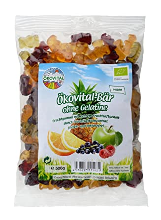 Ökovital Bär ohne Gelatine, 500 g: Amazon.de: Lebensmittel & Getränke