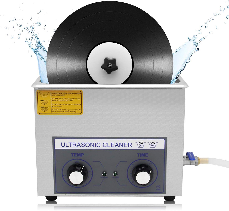 Pulizia dei dischi in vinile con ultrasuoni