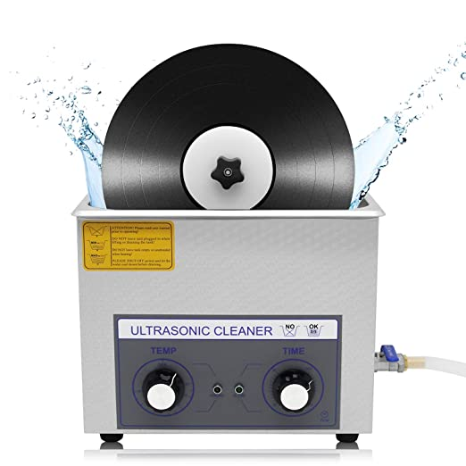 CGOLDENWALL 6L Limpiador Ultrasónico de Disco de Vinilo ...