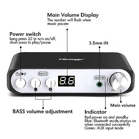 Amazon.com: Q100 - Amplificador de audio inalámbrico con ...