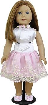 10pcs Rosa Kunststoff  Puppe Ständer Klammer Holder Foot Anzeige Support Zubehör