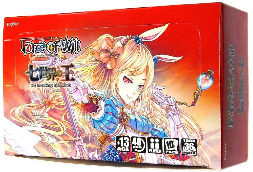 Force of Will - Alice Cluster Set 1 - The Seven Kings of the Lands Booster Box