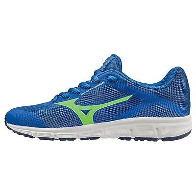 Mizuno Synchro Jr, Chaussures de Running Entrainement Garçon, Bleu