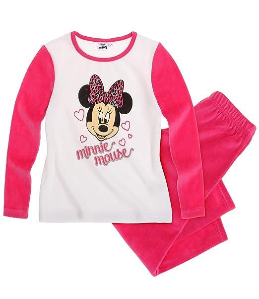 Disney Minnie Chicas Pijama (Velour) - fucsia: Amazon.es: Ropa y accesorios