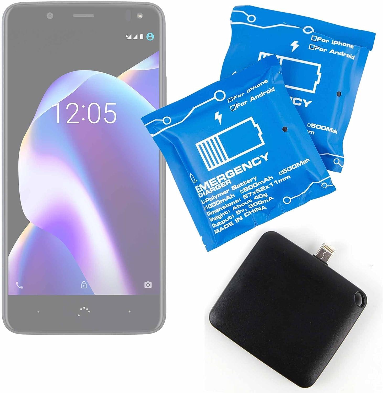 DURAGADGET Batería de Emergencia desechable para Smartphone BQ ...