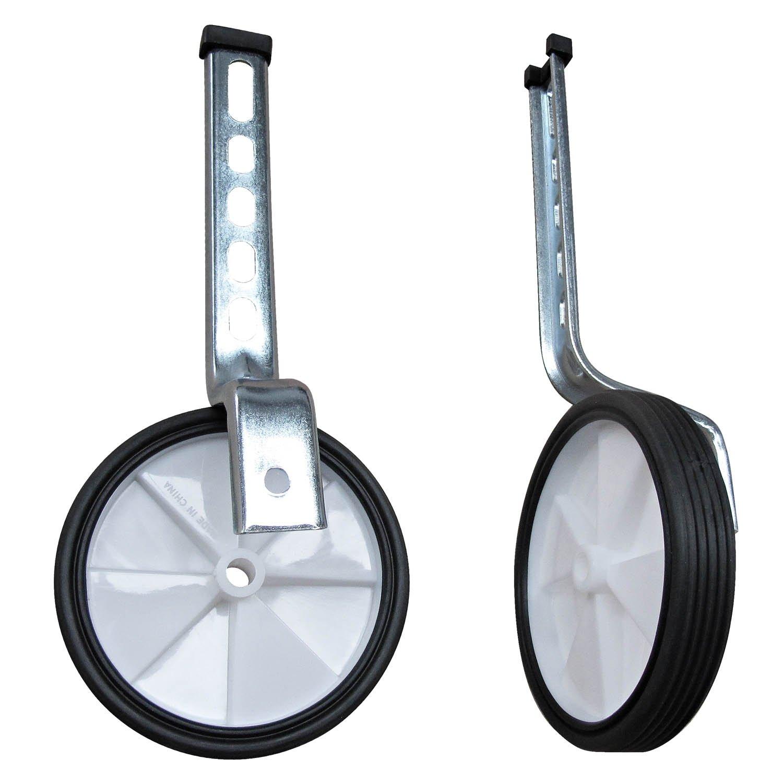 Positz Universal Safety Training Balance Wheels, Adjustable for 12 inch - 20 inch Kids/Children's Bicycles