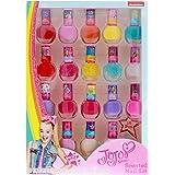 JoJo Siwa Nickelodeon Girls Scented Nail Polish Gift Set Non-Toxic 18 Pieces