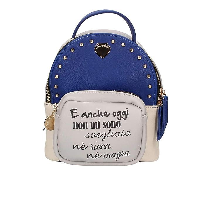 l'atteggiamento migliore f9f31 16e13 LE PANDORINE Zainetto mini zaino mini-backpack-oggi-blue ...