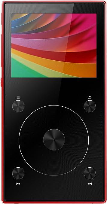 Red High Resolution Music Player FiiO X3 3rd Generation