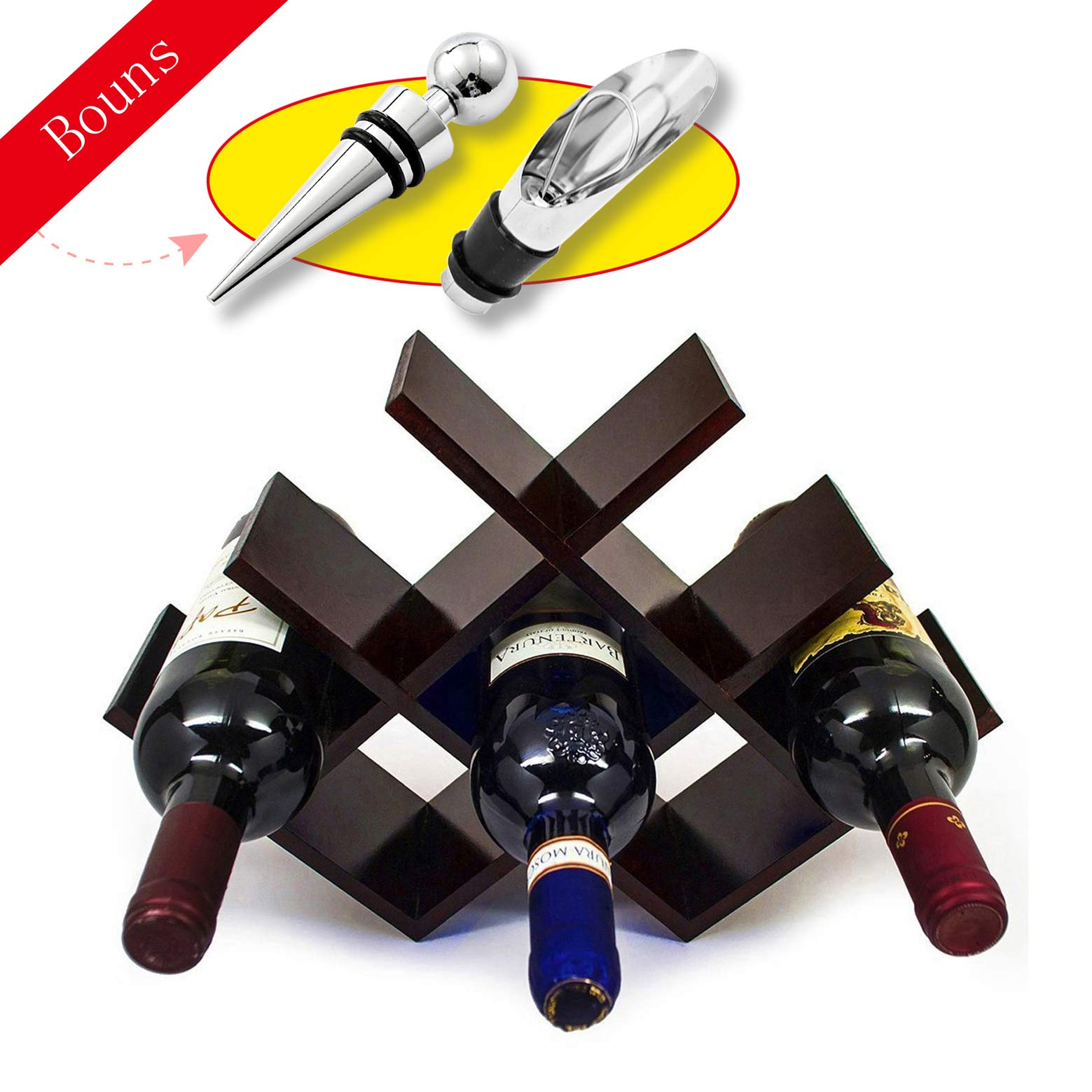 MooShu Butterfly Wine Rack