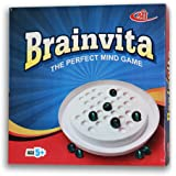 Kids Mandi Mind Challenging Super Quality Brainvita Board Game with 32 Marbles for Kids Brain Development