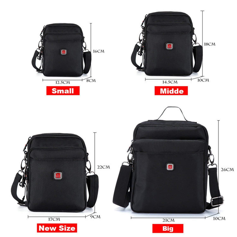 Mens Bag Messenger Bag Waterproof Men Belt Bag Oxford 1680D Zipper Bag Crossbody For Male DropShipping #1052