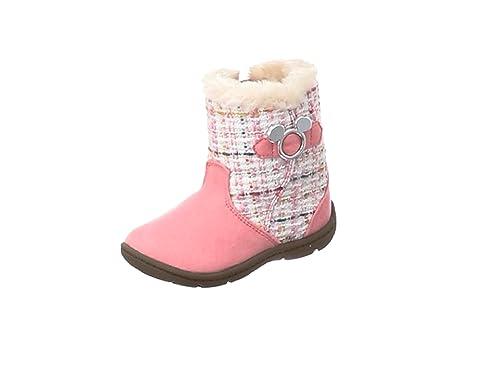 9fd460ae8b345  ディズニー  ブーツ サイドゴア 防寒 ゆったり DN C1222 DN C1222 ガールズ ピンク 15 cm 2E