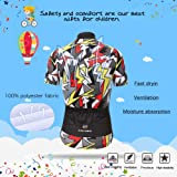 LPATTERN Children Kids Boys' Short Sleeve Cycling