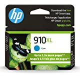 HP 910XL High Yield Cyan Original Ink Cartridge (3YL62AN)