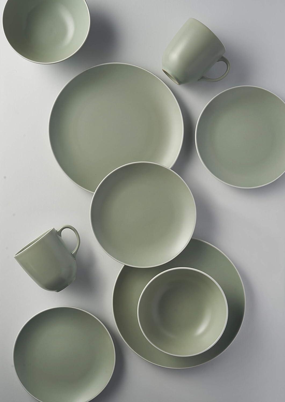Vajilla de cer/ámica 12 piezas, 29 x 29 x 22 cm Mason Cash Classic Collection color crema