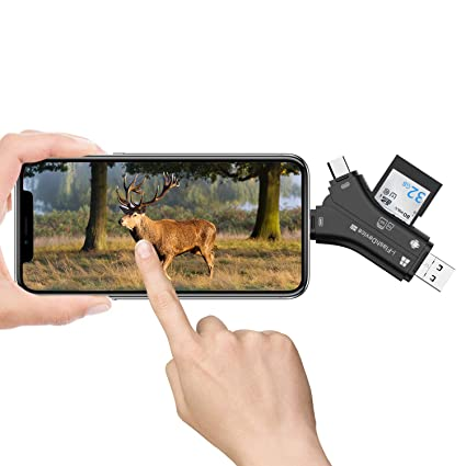 Amazon com: TOGUARD Trail Camera SD Card Viewer for iPhone