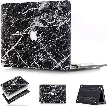 "Black Rubberized Case Cover for MacBook Pro 15/"" Retina A1398 model"
